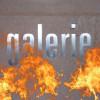 Feuer unterm Dach der kunst galerie fürth