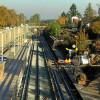 Bahn-Baustelle Fürther Bogen – das vierte Jahr