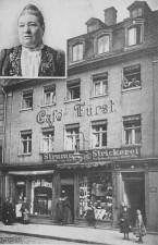 Café Fürst um 1909 (Foto: historisch)