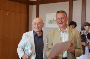 Willie Glaser und Dr. Thomas Jung (Foto: Alexander Mayer)