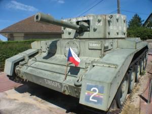 Panzerdenkmal in der Normandie (Foto: Alexander Mayer)