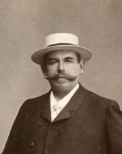 Der Fürther Brauereidirektor Johann Georg Geismann (Foto: Familienarchiv F. Geismann)