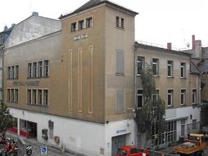 Central-Garage in der Mathildenstraße (Foto: Doc Bendit)