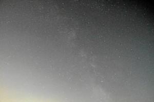 Nachthimmel bei Zirndorf (Foto: Werner Schmidt)