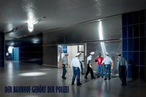 »Der Bahnhof gehört der Polizei«