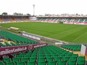Blick auf das Spielfeld (Foto: Andreas Rümler / »Färdder«)