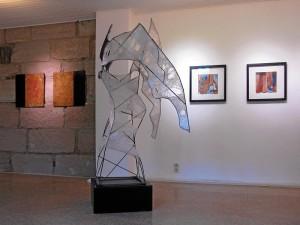 Arbeiten von Elisabeth Pötzl, Roswitha Farnsworth, Irene Kratz (Foto: Ralph Stenzel)
