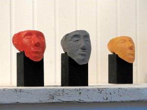 Arbeiten von Leonie Böhnel (Foto: Ralph Stenzel)