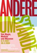 Ausstellungsplakat für »Andere Umstände« (Grafik: Armin Stingl)