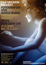 Ausstellungsplakat zu »Das Mikwen-Projekt« (Grafik: Armin Stingl)