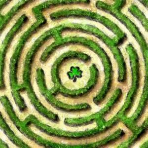 Im Labyrinth der Fürther Finanzen (Grafik: Ralph Stenzel)