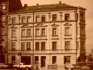 Hornschuchpromenade 21, um 1990 (Foto: Archiv Doc Bendit)