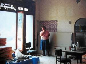 Geschleifter Frisörladen 1991 (Foto: Archiv Doc Bendit)
