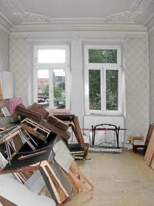 Stuck und Schutt, Ende eines Lebensabschnitts, August 2010 (Foto: Doc Bendit)