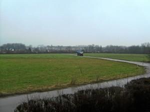 LKW auf Feldweg (Foto: Alfred Schermann)