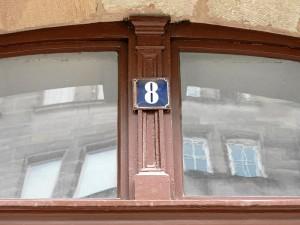 Tordetail des Hauses Salzstraße 8 (Foto: Ralph Stenzel)