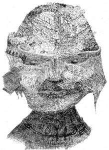 Vanitas (Zeichnung: Hucky Schermann)