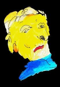 Zeichnung von Hucky Schermann