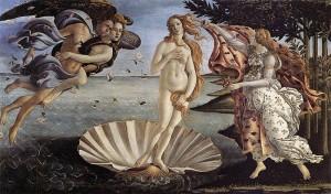 Sandro Botticelli: Die Geburt der Venus (Quelle: Wikipedia)