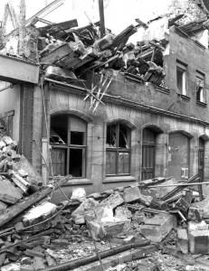 Abbruch des Café Fürst (Foto: Archiv Alexander Mayer)