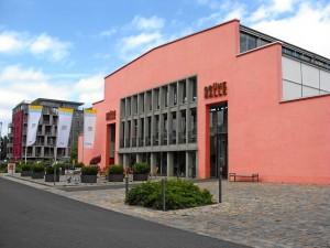 »Grüne Halle«, Haupteingang (Foto: Doc Bendit)