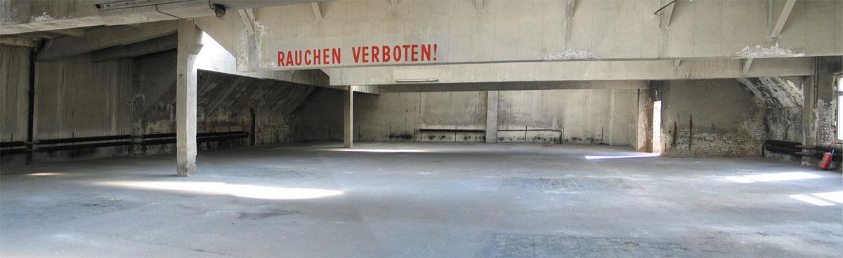 Central-Garage, Etage 2 (Foto: Axel Voss)