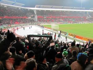 Zum Jahresabschluss durfte man nochmals feiern: Sieg im Derby gegen den 1. FC Nürnberg!  (Foto: Andreas Rümler / »Färdder«)