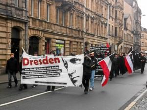 Nazi-Aufmarsch am 18.02.2012 (Foto: Wolfgang Schreyer)