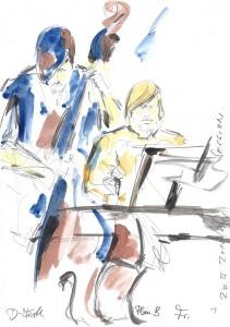 Spontan-Illustration von Live-Zeichner Horst Müller