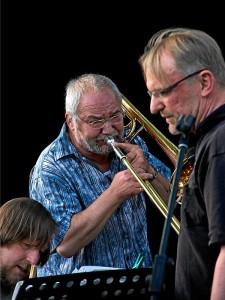 in the mood – Werner Hausen, Alfred Sankowsy und Robert Kaiser (Foto: Moritz Schulz)