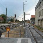 S-Bahnsteig Fürth Hbf (Foto: A. Schermann)