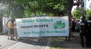 Fürther Bündnis gegen Rechts (Foto: Alexander Wunschik)