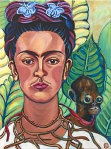 Mariagrazia Huaman fälscht Frida Kahlo