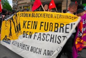 Gegen Neonazis (Symbolfoto: Timo Müller)