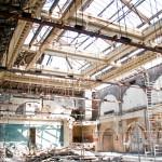 Der Festsaal verschwindet (Foto: privat)
