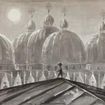 Anton Atzenhofer: Casanova auf den Dächern des Dogenpalastes
