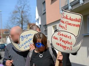 »Fette-Mieten-Party« in der Fürther Südstadt (Foto: Timo Müller)