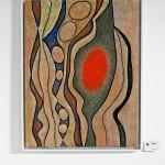 Betonbild in Egon Junges aktueller Ausstellung im City Center