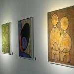 Betonbilder in Egon Junges aktueller Ausstellung im City Center