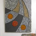 Betonbild in Egon Junges Atelier