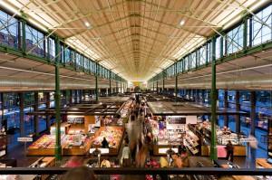 Die nach französischem Vorbild errichtete Schrannenhalle in München könnte Vorbild für eine kleinere halboffene Markhalle in Fürth sein (Foto: privat)