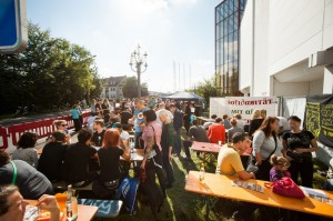 Das Solidaritätsfest im Überblick (Foto: Timo Müller)