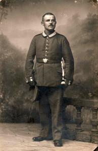 Der Kriegsfreiwillige Theodor Feger, gefallen im Juni 1916 (Foto: Familienarchiv Mayer)