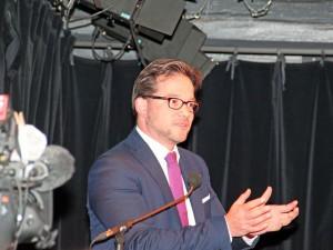Florian Pronold im Kulturforum. (Foto: Alexander Mayer)