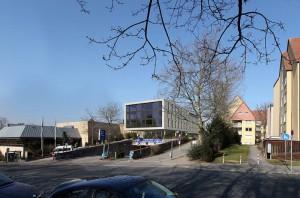 So soll der Hotelneubau aussehen (Simulation: Seemüller GmbH)