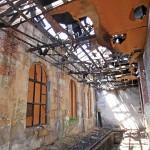 Innenraum des Lokschuppens im Mai 2011 (Foto: Alexander Mayer)