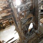 Schäden im Dachstuhl (Foto: Fotogruppe »Rätselhaftes Fürth«)