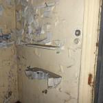 Zerstörtes Waschbecken (Foto: Fotogruppe »Rätselhaftes Fürth«)