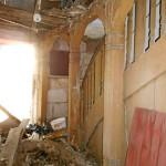 Schäden im Anbau (Foto: Fotogruppe »Rätselhaftes Fürth«)