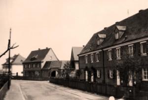 Fuggerstraße um 1930 (Foto: Sammlung A. Mayer)